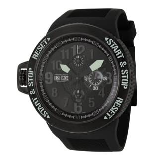 Hamilton Men's 'Khaki Field' Black Titanium Chronograph Watch