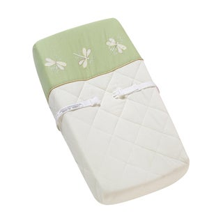 Sweet JoJo Designs Green Dragonfly Dreams Changing Pad Cover