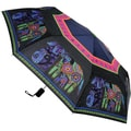 Laurel Burch 'Dog and Doggies' Compact Umbrella