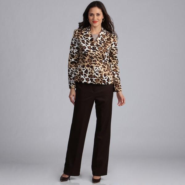 2017-2017 leopard print pantsuits for