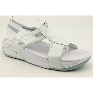 Easy Spirit Women's 'Heel Riser' Basic Textile Sandals (Size 9)