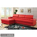 Anderson Contemporary 2-piece Sectional with Adjustable Headrest