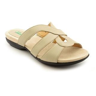 Ros Hommerson Women's 'Kiesha' Leather Sandals - Wide (Size 6)