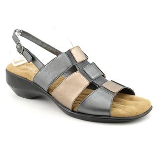 Walking Cradles Women's 'Laura' Leather Sandals - Narrow (Size 7.5)