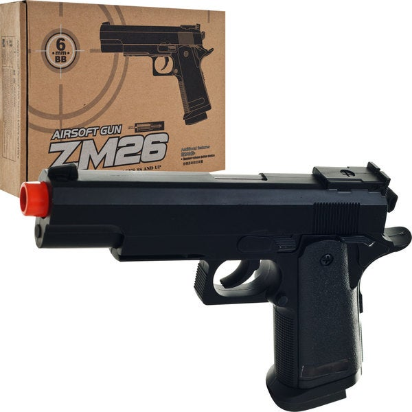 Whetstone ZM26 Metal Airsoft Hand Gun