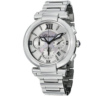 Chopard Men's 388549-3002 'Imperiale' Silver Dial Stainless Steel Automatic Watch