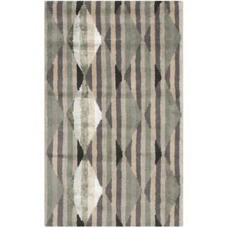 Safavieh Handmade Moroccan Chatham Grey Wool Rug (3' x 5')
