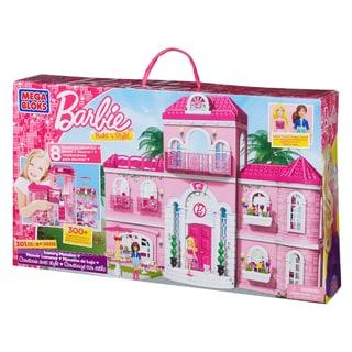 Mega Bloks Barbie Build 'n Style Luxury Mansion