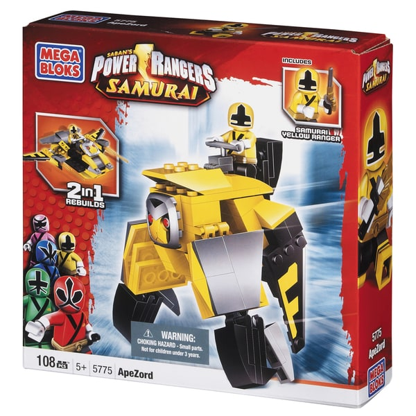Power Rangers Samurai Yellow Ape Folding Zord