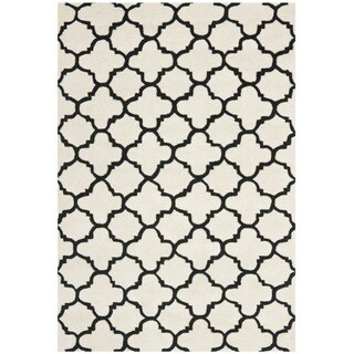 Safavieh Handmade Contemporary Moroccan Ivory Wool Rug (8' x 10')