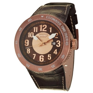 Hamilton Men's 'Khaki Field' Rose PVD-plated Titanium Swiss Automatic Watch