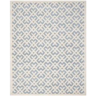 Safavieh Handmade Moroccan Chatham Blue Wool Area Rug (8' x 10')