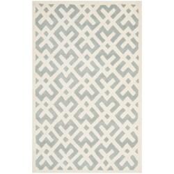 Safavieh Handmade Moroccan Chatham Grey Wool Rug (6' x 9')