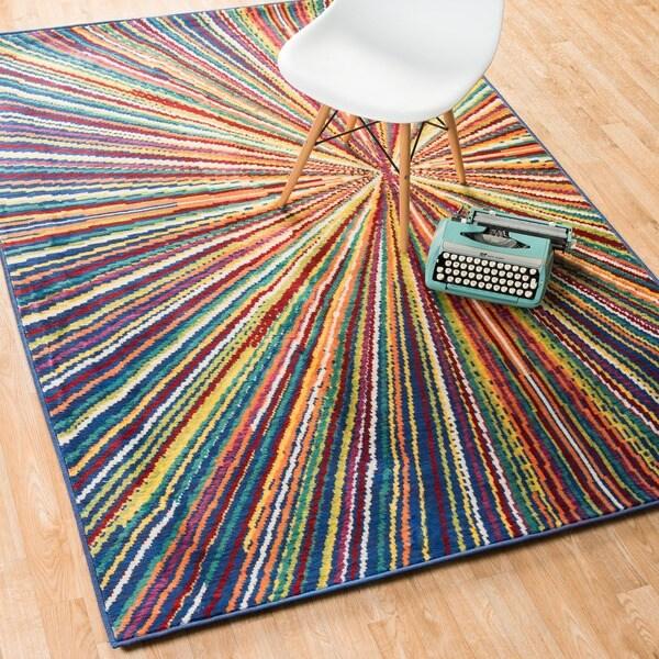Skye Monet Prism Rug (5'2 x 7'7) 10706651