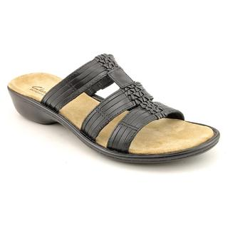 Auditions Women's 'Bolero' Leather Sandals - Narrow (Size 10)