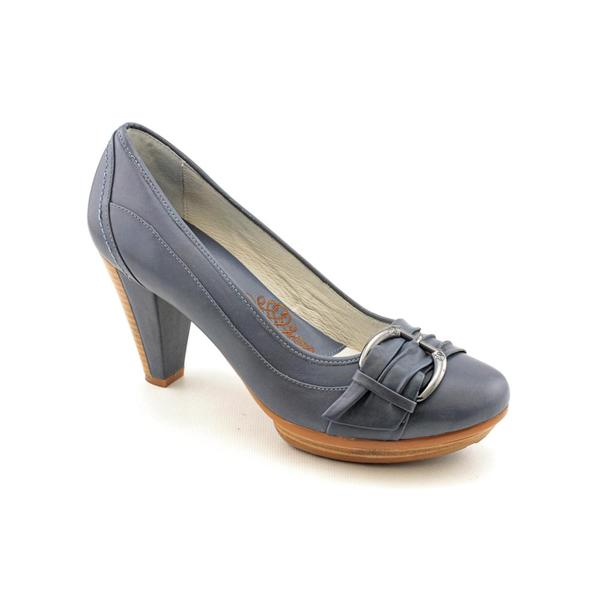 Be Comfortable By Blondo Women's 'Veltemia' Leather Dress Shoes (Size 8.5)