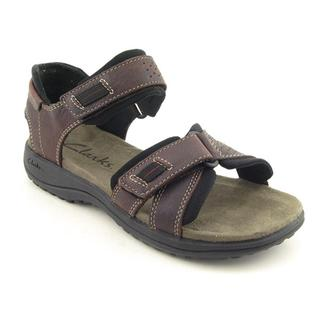 Clarks Men's 'Keating' Leather Sandals (Size 13)