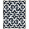 Contemporary Safavieh Handmade Moroccan Chatham Dark Blue Wool Rug (8' x 10')