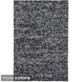 Handwoven Mandara Wool Shag Area Rug (7'9