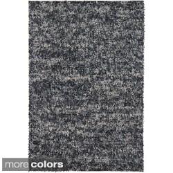 """Handwoven Mandara Wool Shag Area Rug (7'9"""" x 10'6"""")"""