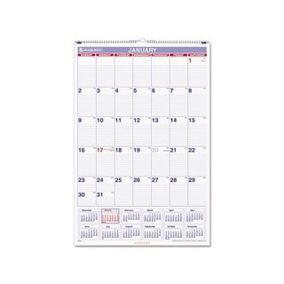 2014 Recycled Monthly Wall Calendar (20 x 30)