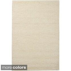 Mandara Hand-woven Wool Rug (5' x 7'6)
