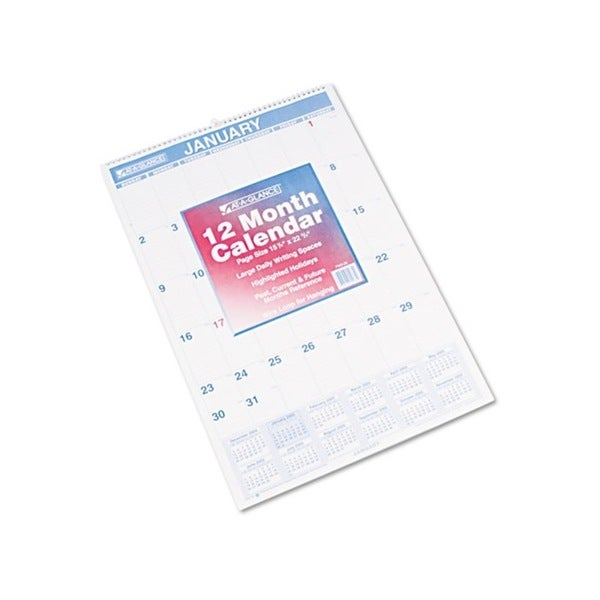 2015 Recycled Monthly Wall Calendar (15.5 x 22.75)