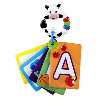 Baby Einstein Shapes & Numbers Cow Discovery Cards