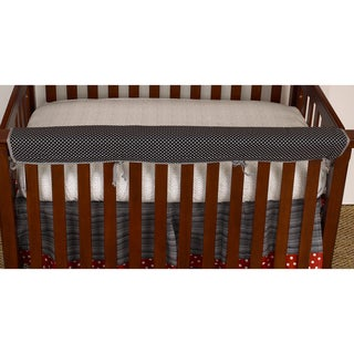 Cotton Tale Pirates Crib Rail Front Cover Up