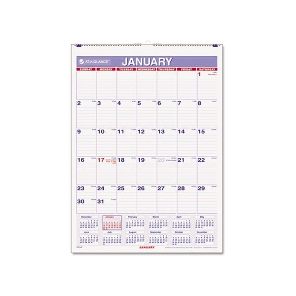2015 Recycled Monthly Wall Calendar (8 x 11)