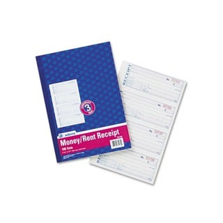 Three-Part Carbonless Receipt Book (7 5/8 x 11)