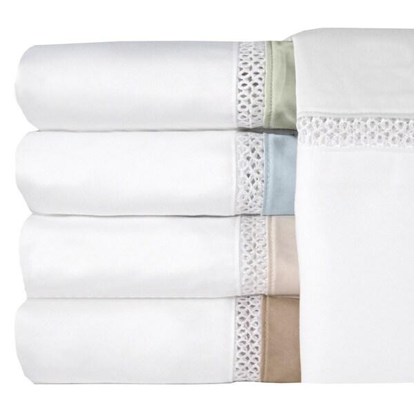 Grand Luxe Duetta Egyptian Cotton Sateen Deep Pocket 300 Thread Count Sheet Set