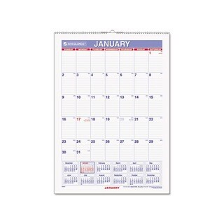 2013 Recycled Erasable Monthly Wall Calendar (12 x 17)