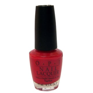 OPI Dutch Tulips Red Nail Lacquer