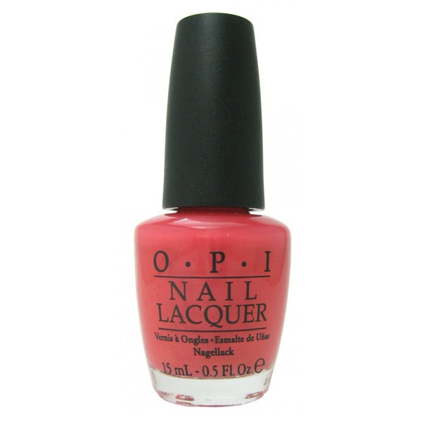 OPI I Eat Mainely Lobster Nail Lacquer