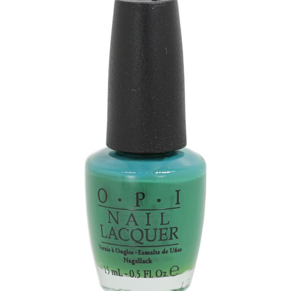 OPI Jade is the New Black Nail Lacquer