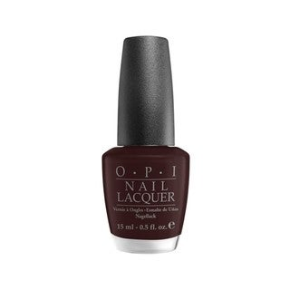 OPI Eiffel For This Color Deep Plum Shimmer Nail Lacquer