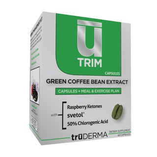 truDERMA U-Trim Green Coffee Bean Extract (60 Capsules)
