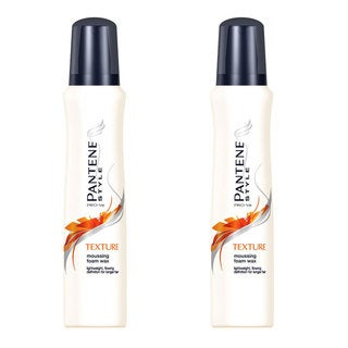 Pantene Pro-V Texture 5.1-ounce Moussing Foam Wax (Pack of 2)