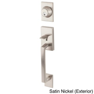 Square Modern Front Entry Handle Set