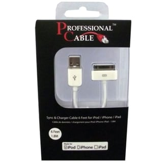 Professional Cable ICABLE Sync/Charge Cable