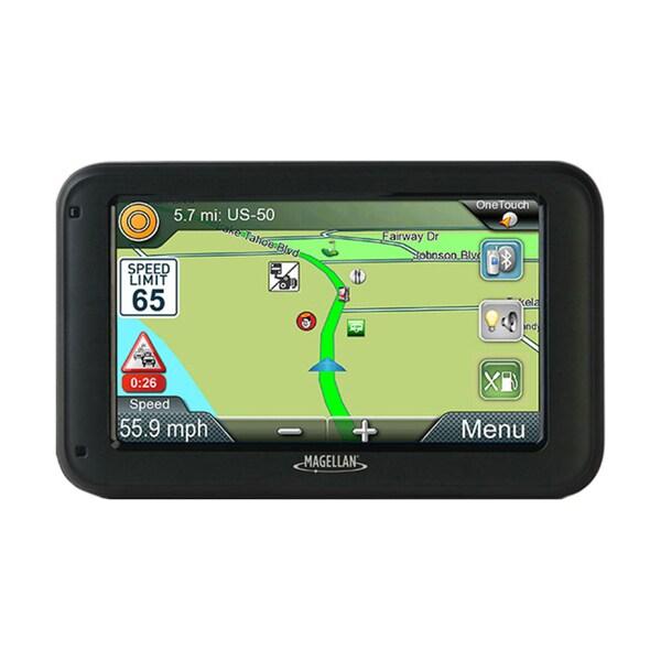 Magellan RoadMate RV5365T-LMB Automobile Portable GPS Navigator