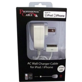 Professional Cable Wall Charger for iPod/iPad/iPhone