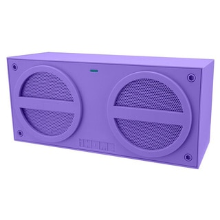 iHome Speaker System - Wireless Speaker(s) - Purple