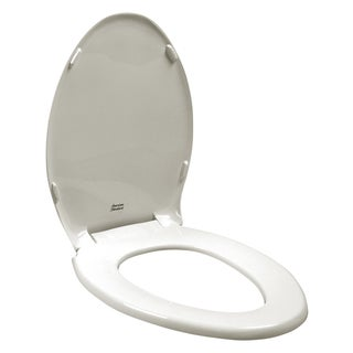 Rise and Shine Elongated Closed Front Toilet Seat in White