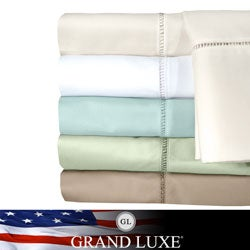 Grand Luxe Linford Egyptian Cotton Deep Pocket 300 Thread Count Sheet Set