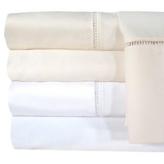 Grand Luxe Linford Egyptian Cotton Sateen Deep Pocket 1200 Thread Count Sheet Set