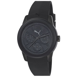 Puma Men's Black Silicone Sport Analog Watch