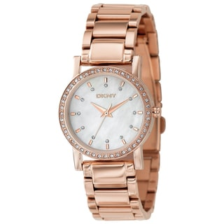 DKNY Women's Mother of Pearl Dial Watch