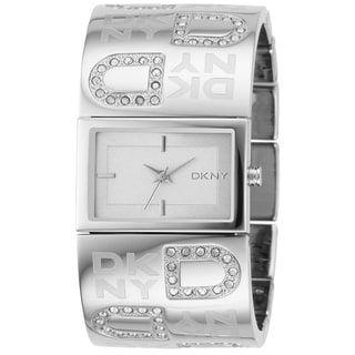 DKNY Women's Silver Stainless Steel Analog Silver Dial Quartz Watch